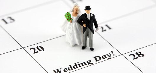 La date du mariage