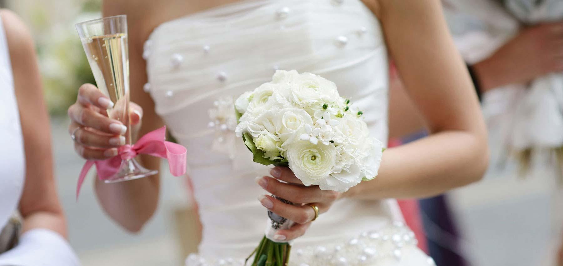 Le bouquet de fleur du mariage