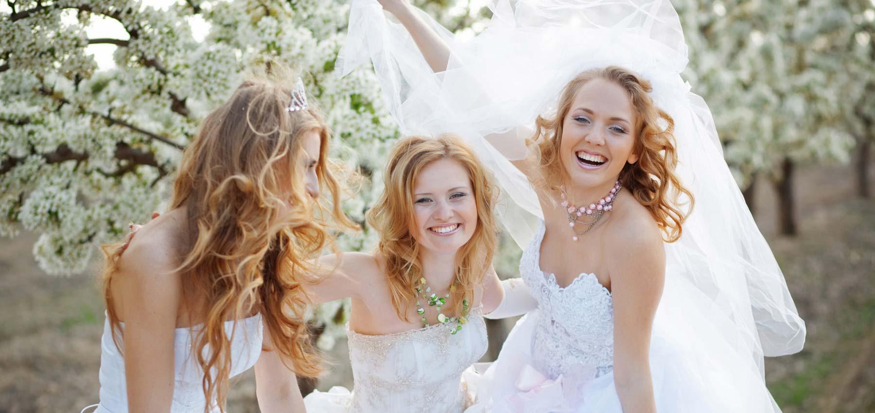 Partagez la joie de la mariée